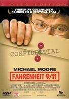 Fahrenheit 9/11 - Norwegian Movie Cover (xs thumbnail)