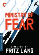 Ministry of Fear - DVD cover (xs thumbnail)