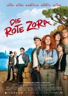 Rote Zora, Die - German Movie Poster (xs thumbnail)