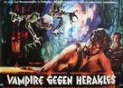 Ercole al centro della terra - German Movie Poster (xs thumbnail)