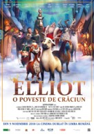 Elliot the Littlest Reindeer - Romanian Movie Poster (xs thumbnail)