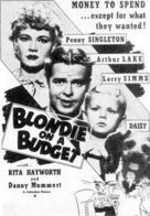 Blondie on a Budget - poster (xs thumbnail)