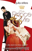 The Prince & Me - Danish Movie Poster (xs thumbnail)