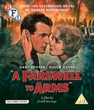 A Farewell to Arms - British Blu-Ray cover (xs thumbnail)
