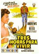 Three Hours to Kill - Spanish Movie Poster (xs thumbnail)