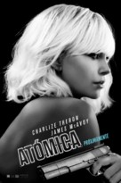 Atomic Blonde - Argentinian Movie Poster (xs thumbnail)