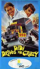 Didi auf vollen Touren - Polish VHS movie cover (xs thumbnail)