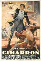 Cimarron - Swedish Movie Poster (xs thumbnail)