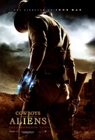 Cowboys & Aliens - Mexican Movie Poster (xs thumbnail)