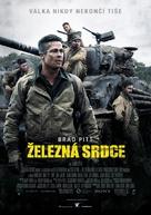 Fury - Czech Movie Poster (xs thumbnail)