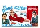 La femme écarlate - Belgian Movie Poster (xs thumbnail)