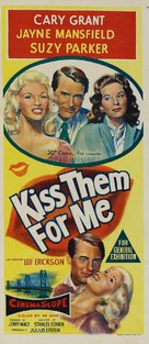 Kiss Them for Me - Australian Movie Poster (xs thumbnail)