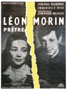 Léon Morin, prêtre - French Movie Poster (xs thumbnail)