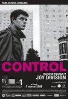 Control - Polish Movie Poster (xs thumbnail)