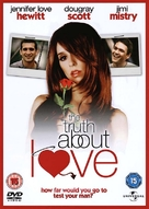 The Truth About Love - British DVD cover (xs thumbnail)