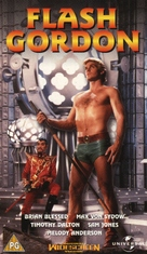 Flash Gordon - British VHS cover (xs thumbnail)