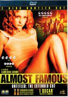 Almost Famous - Swedish DVD movie cover (xs thumbnail)