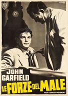 Force of Evil - Italian Movie Poster (xs thumbnail)