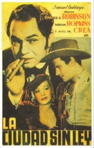 Barbary Coast - Spanish Movie Poster (xs thumbnail)