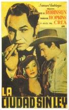 Barbary Coast - Spanish Movie Poster (xs thumbnail)