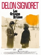 Les granges brulées - French Movie Poster (xs thumbnail)