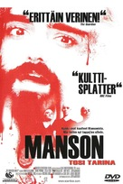 The Manson Family - Finnish Movie Cover (xs thumbnail)