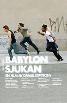 Babylonsjukan - Swedish Movie Poster (xs thumbnail)