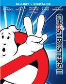 Ghostbusters II - Blu-Ray cover (xs thumbnail)