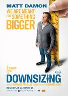 Downsizing - New Zealand Movie Poster (xs thumbnail)
