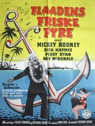All Ashore - Danish Movie Poster (xs thumbnail)