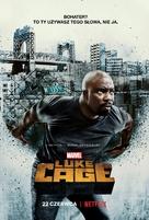 """Luke Cage"" - Polish Movie Poster (xs thumbnail)"