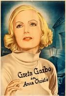 Anna Christie - German Movie Poster (xs thumbnail)