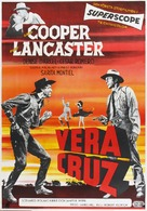 Vera Cruz - Swedish Movie Poster (xs thumbnail)