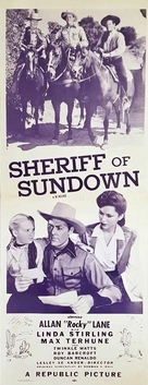 Sheriff of Sundown - Movie Poster (xs thumbnail)