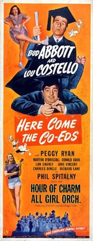 Here Come the Co-eds - Theatrical poster (xs thumbnail)