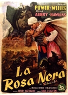 The Black Rose - Italian Movie Poster (xs thumbnail)