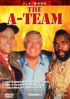"""The A-Team"" - British DVD cover (xs thumbnail)"