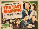 The Last Warning - Movie Poster (xs thumbnail)