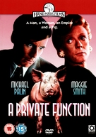 A Private Function - British DVD cover (xs thumbnail)
