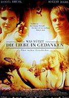 Was nützt die Liebe in Gedanken - German Movie Poster (xs thumbnail)