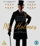 Mr. Holmes - British Blu-Ray movie cover (xs thumbnail)