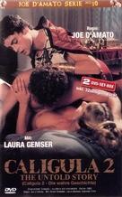 Caligola: La storia mai raccontata - German DVD cover (xs thumbnail)