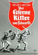 The Black Shield of Falworth - German Movie Poster (xs thumbnail)
