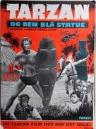 Tarzan's Jungle Rebellion - Danish Movie Poster (xs thumbnail)