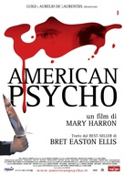 American Psycho - Italian Movie Poster (xs thumbnail)
