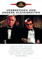 Crimes and Misdemeanors - German DVD movie cover (xs thumbnail)