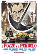 Pit and the Pendulum - Italian Movie Poster (xs thumbnail)