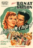 Goodbye, Mr. Chips - Spanish Theatrical movie poster (xs thumbnail)