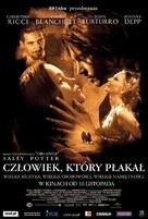 The Man Who Cried - Polish Movie Poster (xs thumbnail)