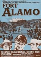 The Alamo - Danish Movie Poster (xs thumbnail)